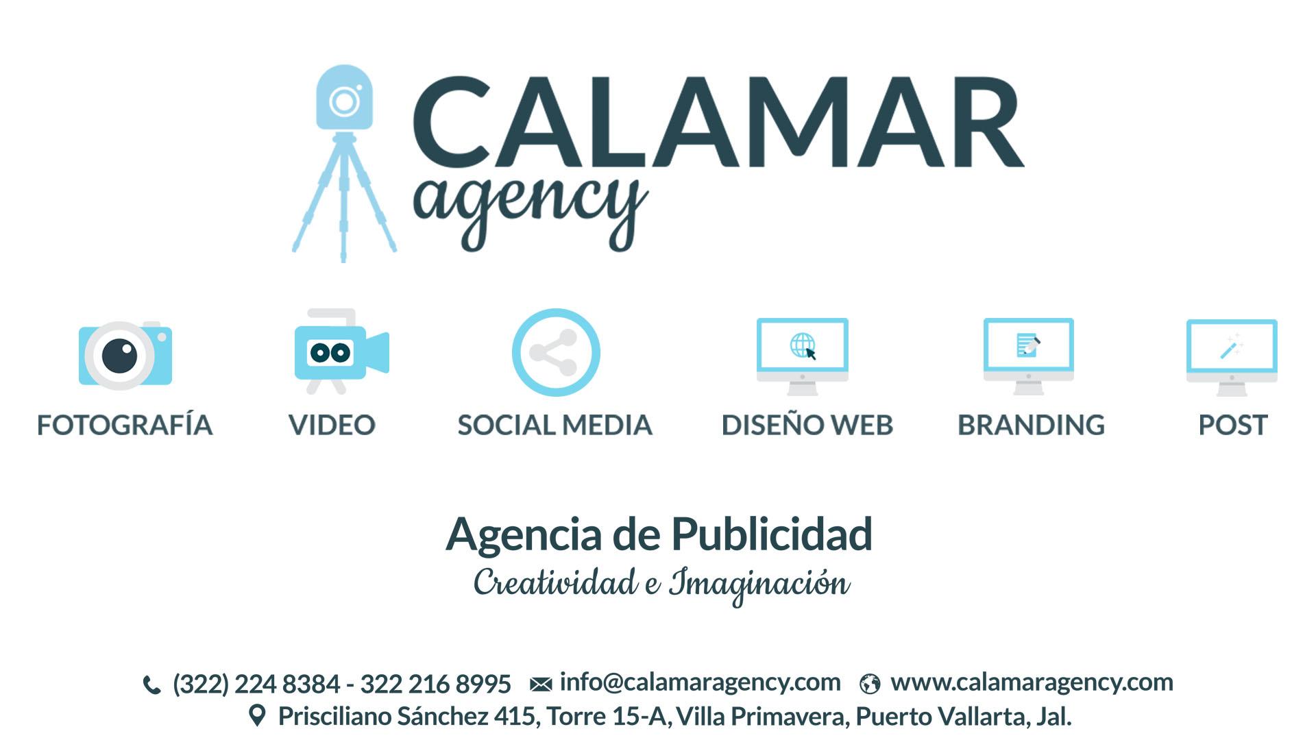 Servicios calamar agency agencia de publicidad en puerto for Agencia de publicidad