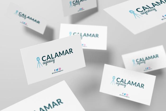 Tarjetas de presentación - Calamar Agency