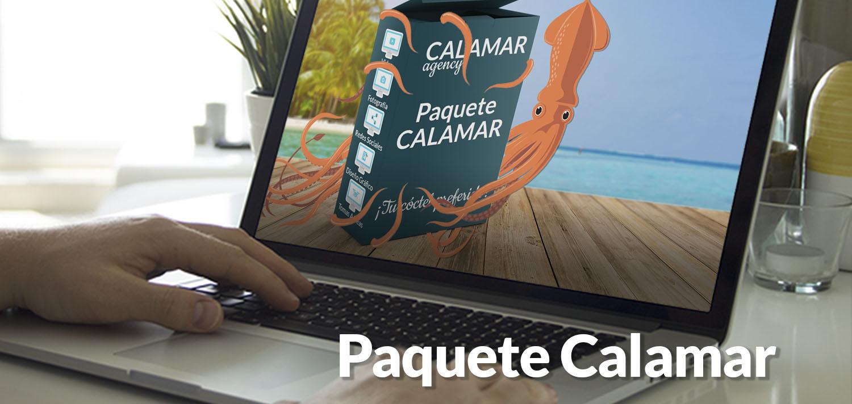 Paquete Calamar | Calamar Agency